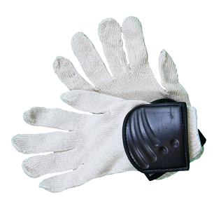 Cotton Gloves with Foam Pad